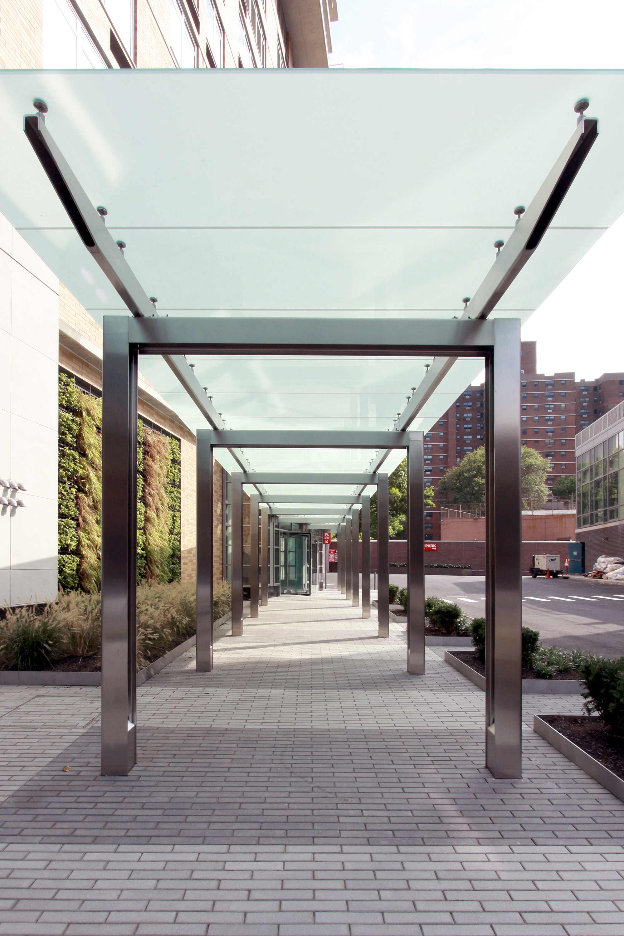 Canopies - Diversified Glass